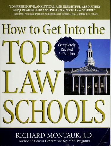 Download How to get into the top law schools