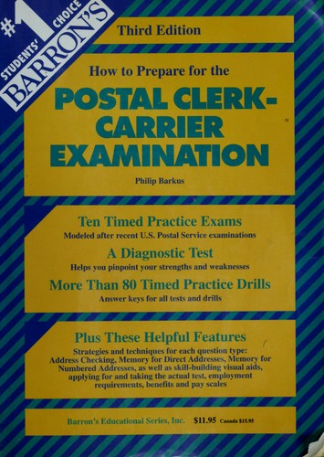 Barron's how to prepare for the postal clerk-carrier examination