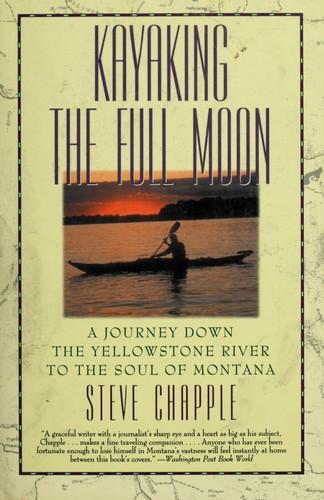 Kayaking the full moon