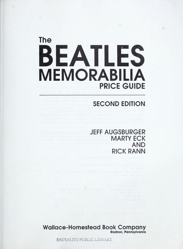 The Beatles memorabilia price guide