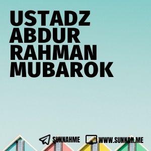 Mushtholahul Hadits - Ustadz Abdurrahman Mubarok (kumpulan audio)
