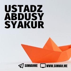 - Ustadz Abdusy Syakur (41 audio kajian)