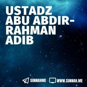 - Ustadz Abu Abdirrahman Adib (19 audio kajian)