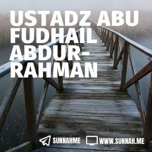 Taudhihul Ahkam Syarah Bulughul Maram - Ustadz Abu Fudhail Abdurrahman (kumpulan audio)