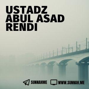 Kumpulan audio kajian tematik Ustadz Abul Asad Rendi
