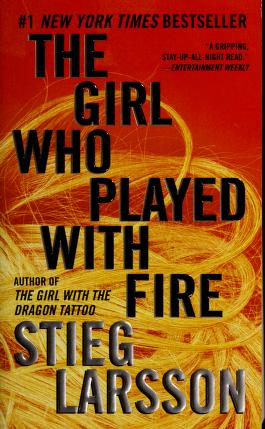 Cover of: The girl who played with fire by Stieg Larsson