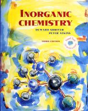Inorganic chemistry by D. F. Shriver