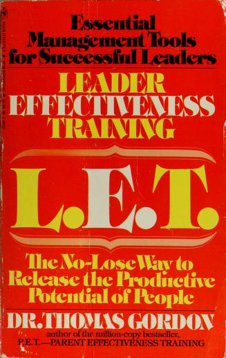 Cover of: Leadership Effectiveness Training  | Dr Thomas Gordon