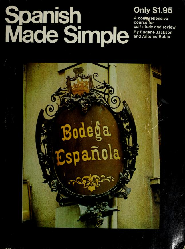 Spanish Made Simple Edition by Eugene Jackson