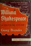 Cover of: William Shakespeare: a critical study.