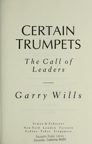 Certain trumpets