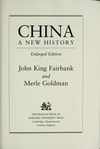 China by Edwin O. Reischauer, John K. Fairbank